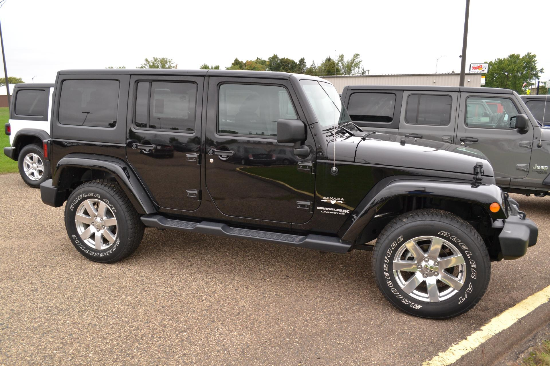 New 2018 JEEP Wrangler Unlimited Sahara Sport Utility in New