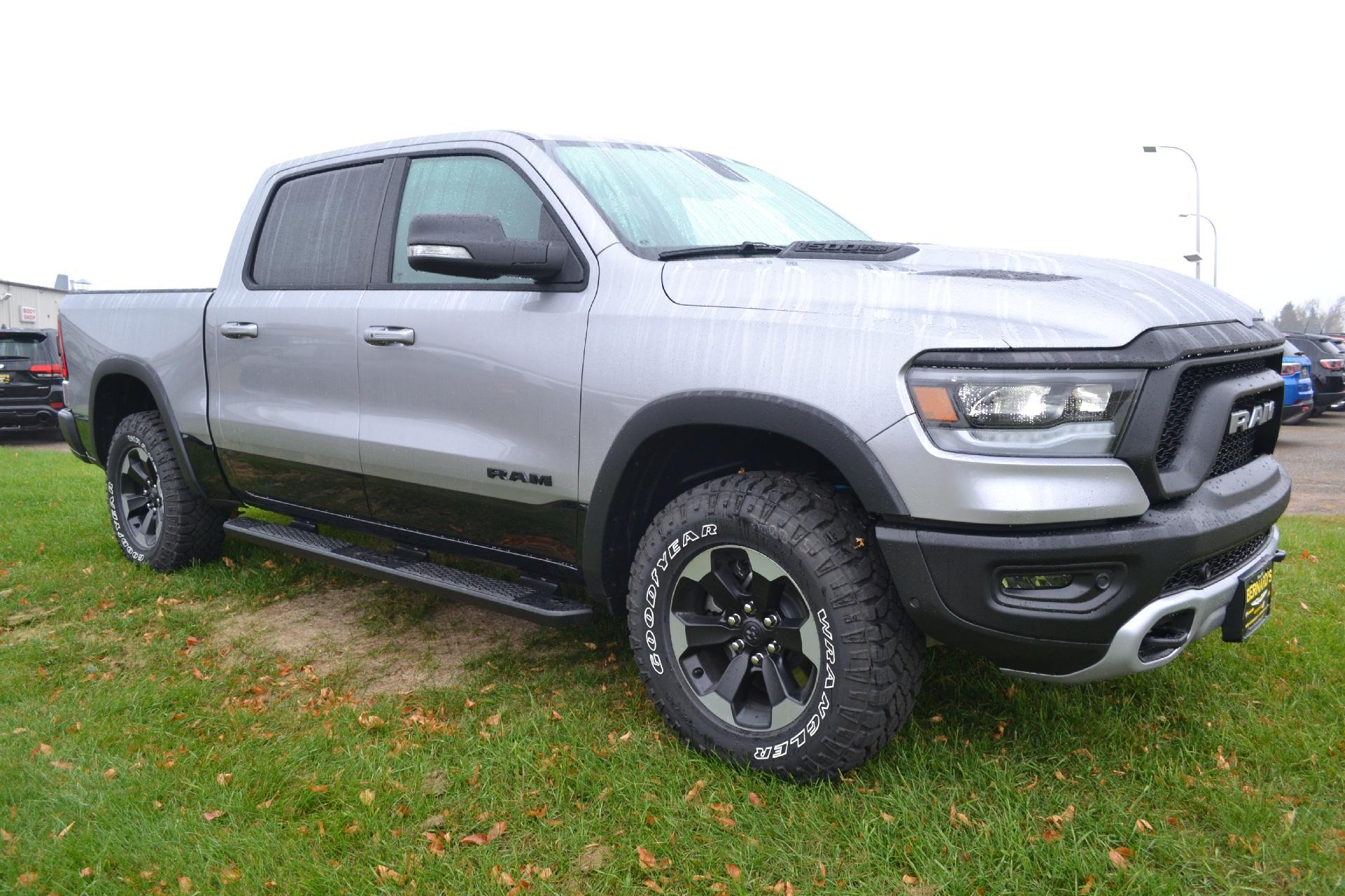 Ram 1500 Rebel >> New 2019 Ram All New 1500 Rebel Crew Cab In New Richmond 19 303