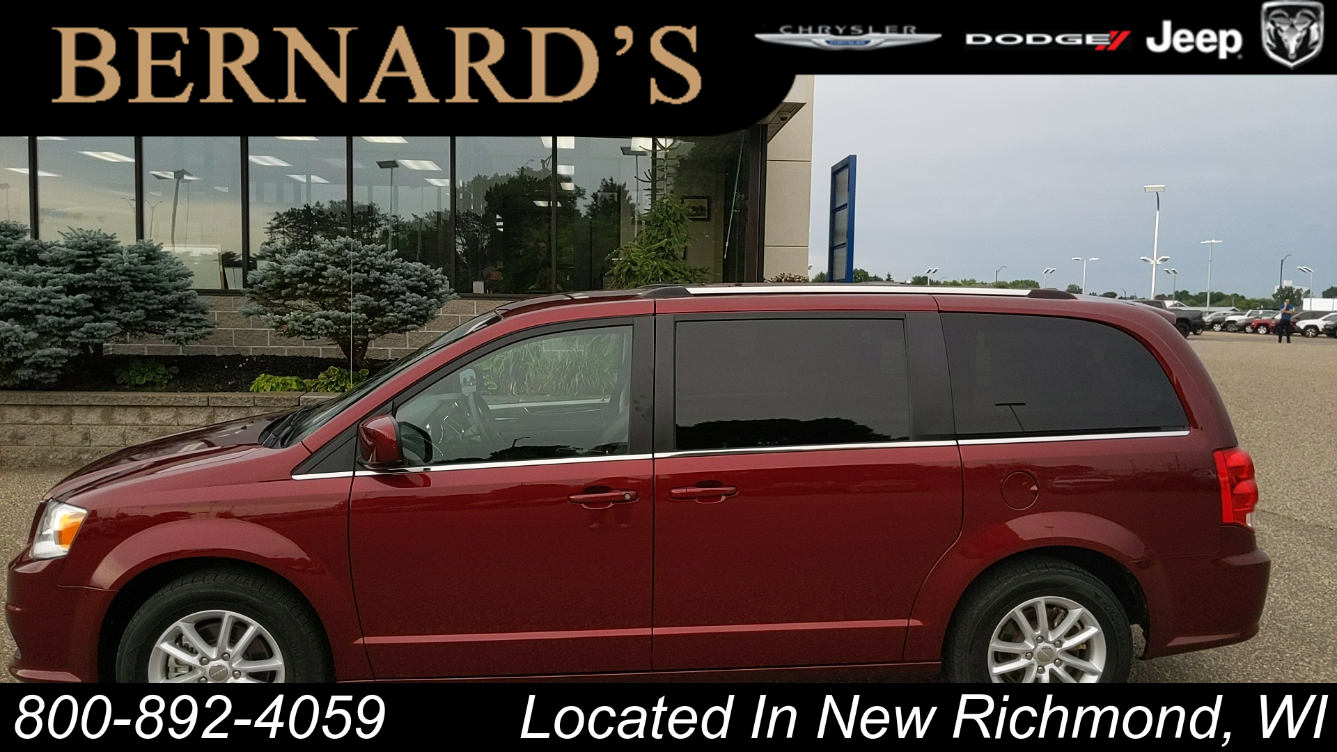 Pre Owned 2019 Dodge Grand Caravan Sxt Wg In New Richmond 20 4403 Bernard S Chrysler Dodge Jeep Ram